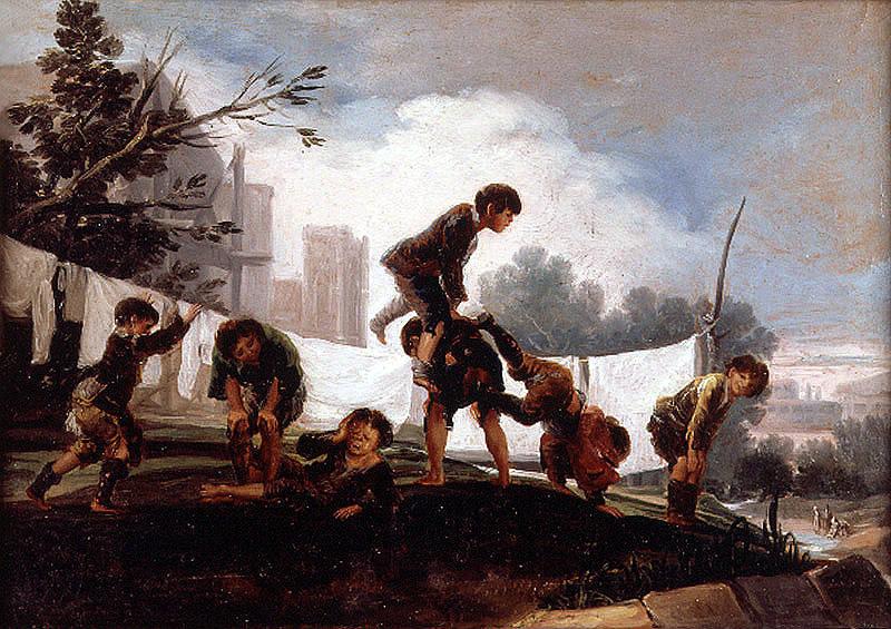Juego de niños. El balancín. Francisco de Goya y Lucientes